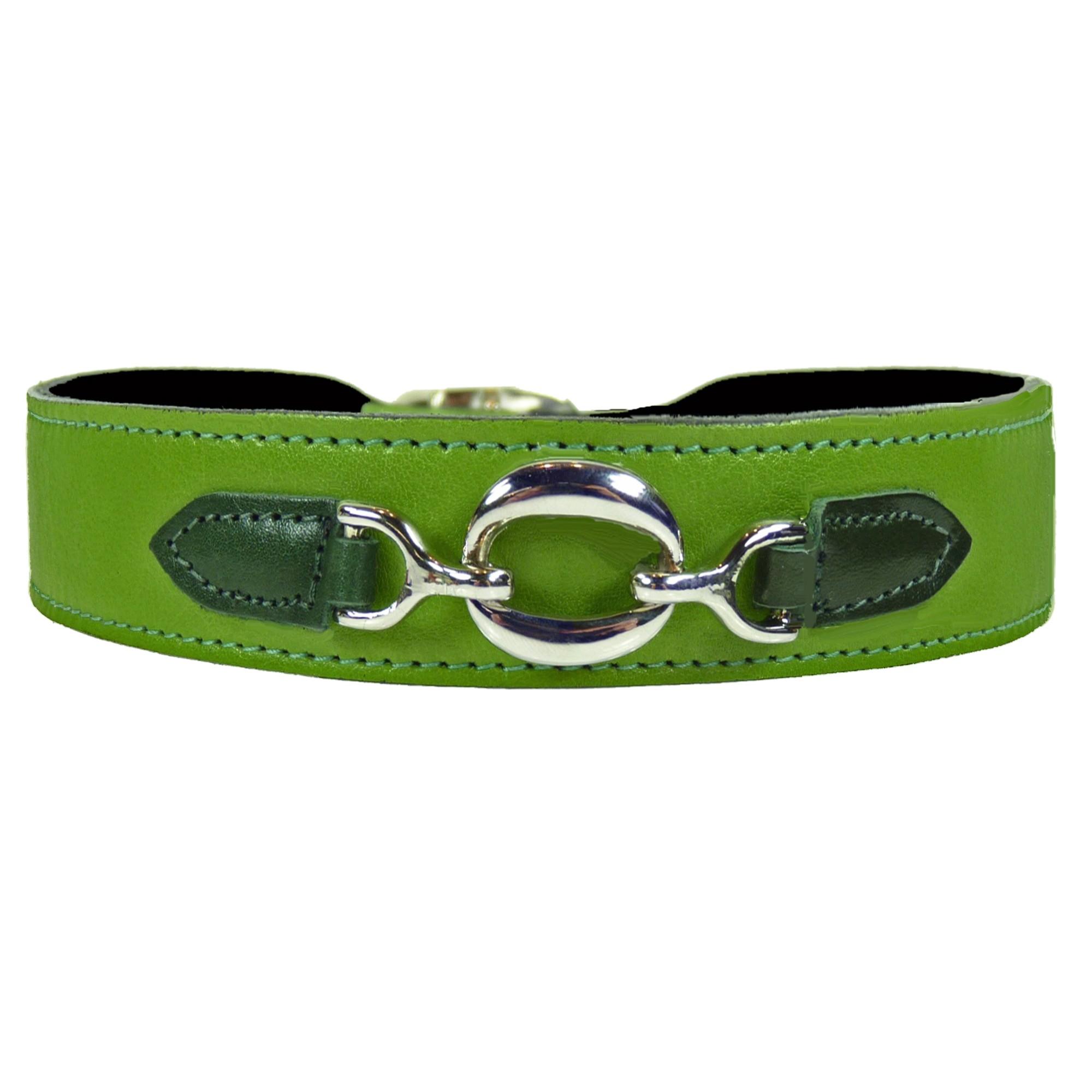 Lime Green Dog Collar