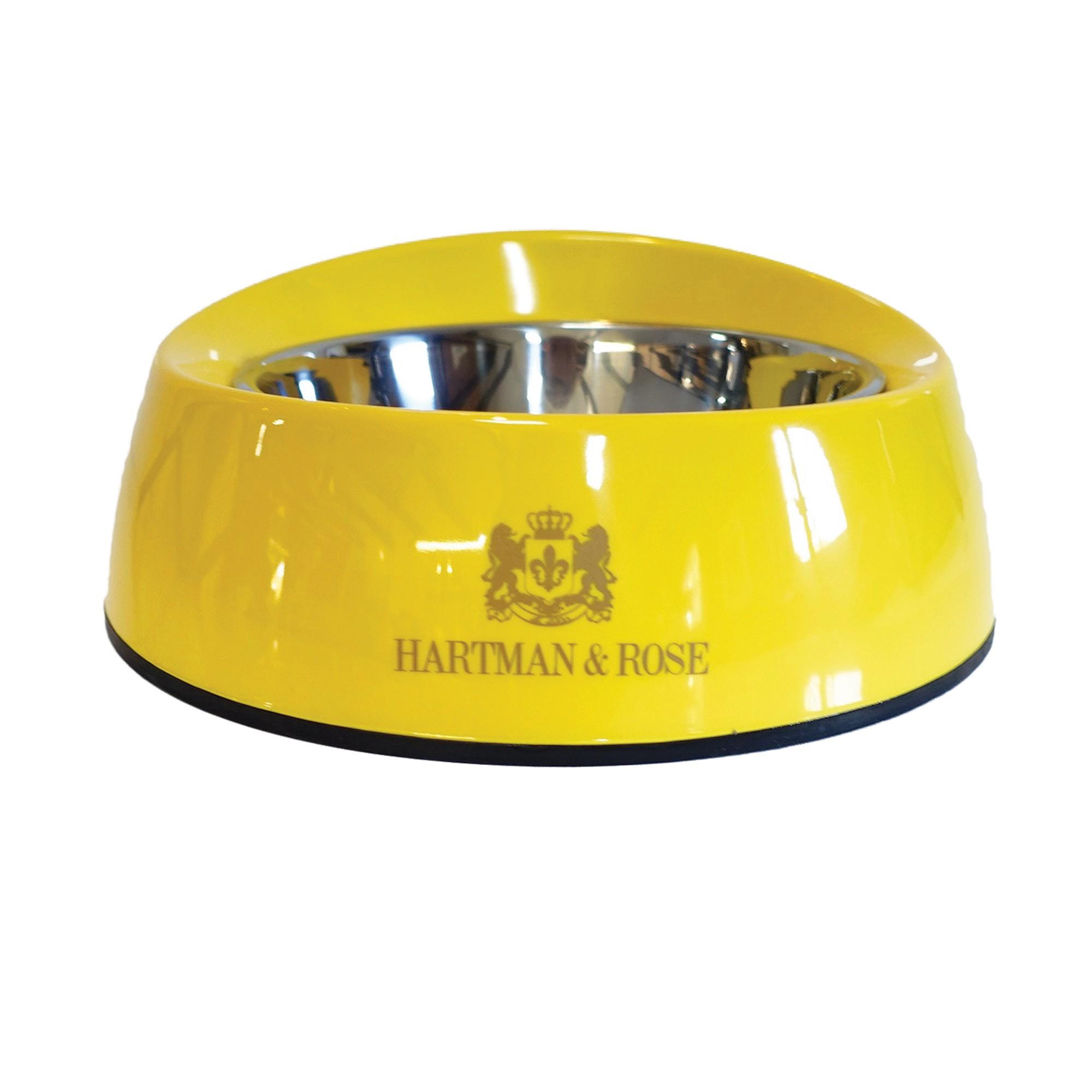 Signature Canary Yellow Melamine Dog Bowl - Dog Bowls ... - photo#34