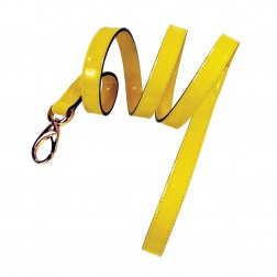 Hamilton Collection Lead in Canary Yellow Patent & Gold