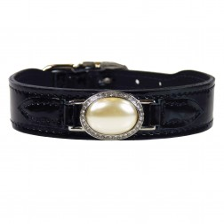 Estate in Black Patent & Cream Pearl
