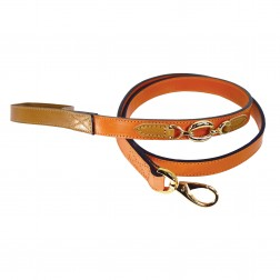 Hartman Lead in Tangerine & Tan
