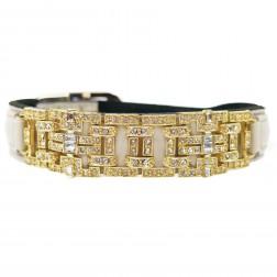 Haute Couture Art Deco in Bone & Gold
