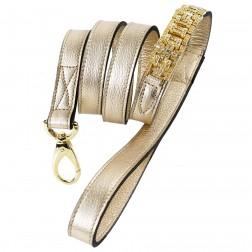Haute Couture Art Deco Lead in Gold Metallic/Gold