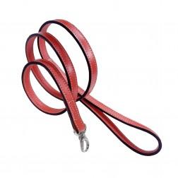 Italian Petal Pink  Leather & Nickel Lead