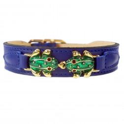 Leap Frog in Cobalt Blue