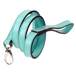 Daisy Lead in Turquoise & Nickel