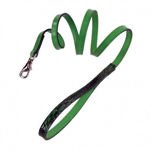 Snakeskin Lead in Emerald