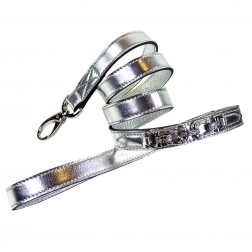 After Eight Lead in Metallic Silver
