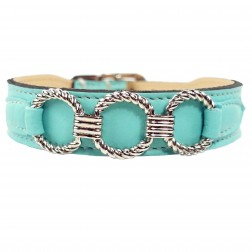 Athena in Turquoise & Nickel