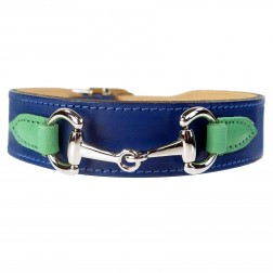 Belmont in Cobalt Blue, Kelly Green & Nickel