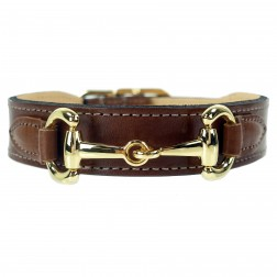 Belmont in Rich Brown & Gold
