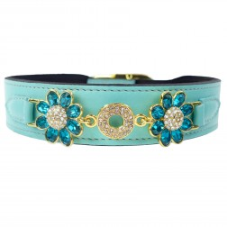 Daisy in Turquoise & Gold