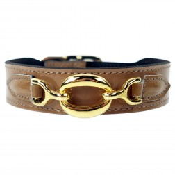 Hartman in Caramel Patent Leather