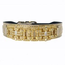 Haute Couture Art Deco in Metallic Gold & Gold