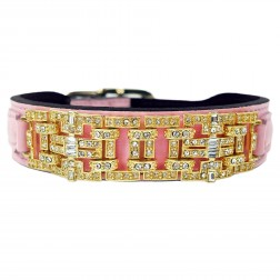 Haute Couture Art Deco in Sweet Pink & Gold