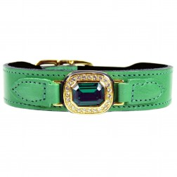 Haute Couture Octagon in Kelly Green & Emerald