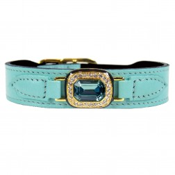 Haute Couture Octagon in Turquoise