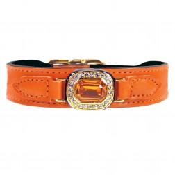 Haute Couture Octagon in Tangerine & Topaz