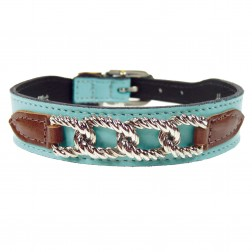 Mayfair in Turquoise & Chocolate