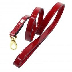 Holiday Crystal Bit Lead in Red Patent
